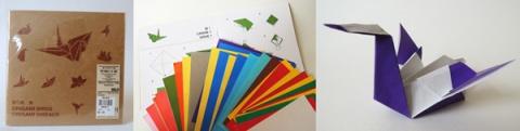 kit oiseau origami